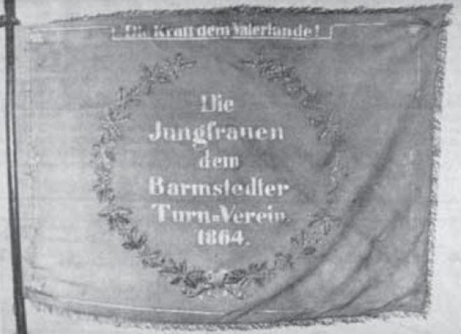 Vereinsfahne von 1864